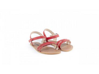 Be Lenka barefoot sandály Summer Red