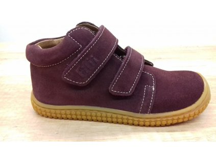 Filii CHAMELEON Velours Berry Velcro W celoroční kotníková obuv 292012-1