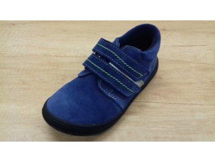 Jonap celoroční barefoot obuv B1/SV modrá ref