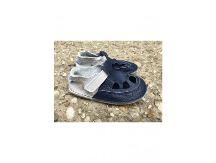 Baby Bare Shoes barefoot sandály/přezůvky Summer Perforation Gravel