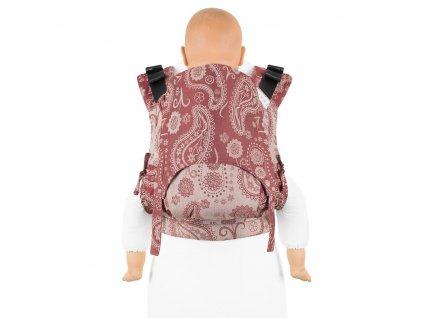 fidella fusion 2 0 tragehilfe classic persian paisley rubinrot toddler