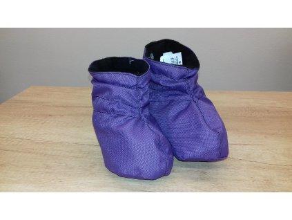 Shara Softshellové jarní/podzimní capáčky fialové velikost S