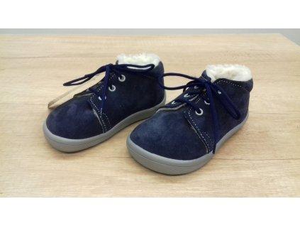 Beda zimní barefoot obuv Lucas s membránou na tkaničky 0001/WMK/40006