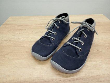 FARE BARE unisex celoroční/zimní barefoot boty modré 5321201