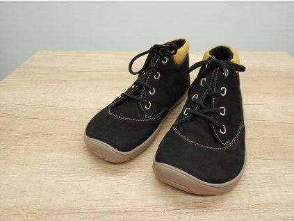 FARE BARE unisex celoroční/zimní barefoot boty černé 5321211