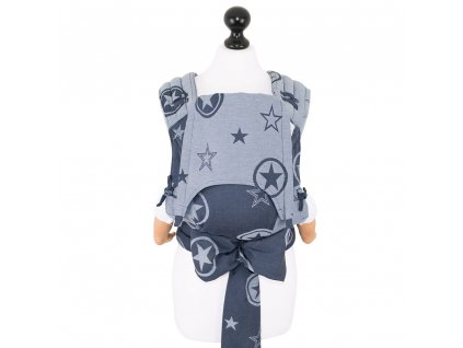 babysize fidella flytai meitai babycarrier outer space blue
