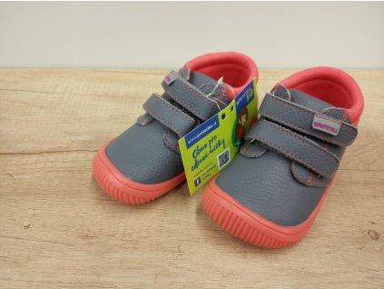 Protetika celoroční barefoot obuv Rony Koral
