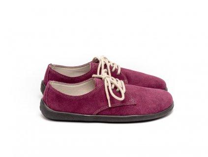 Be Lenka celoroční barefoot obuv City Plum