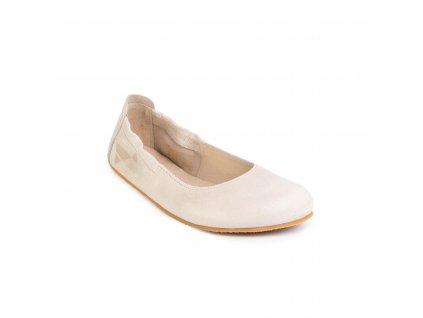 Angles Fashion Afrodita Light Beige barefoot baleríny (2)