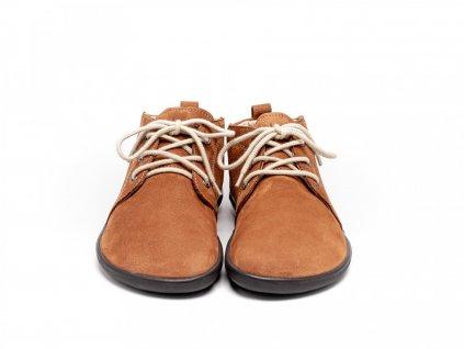 Be Lenka celoroční barefoot obuv Icon Cognac