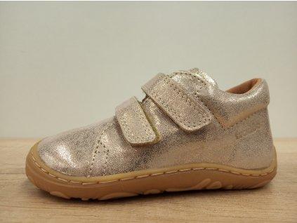 Froddo barefoot tenisky Narrow Gold G2130192-12