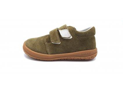 Jonap celoroční barefoot obuv B1/SV khaki