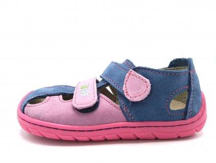 Fare Bare barefoot dětské sandály 5161251