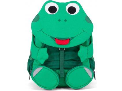 Affenzahn Dětský batoh do školky Fabian Frog large green (1)