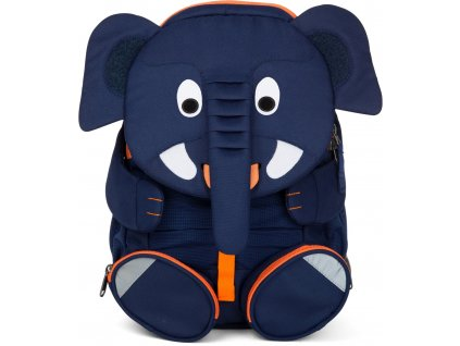 Affenzahn Dětský batoh do školky Elias Elephant large Blue (1)