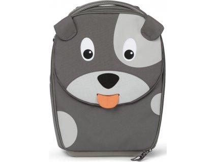 Affenzahn Dětský cestovní kufřík Suitcase David Dog grey (1)
