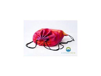 Carrier Bag Little Frog Raspberry Rhodonite
