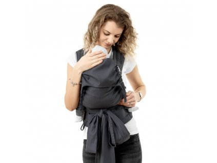 ergonomické nosítko fidella fusion v2 fullbuckle baby carrier diamonds anthracite toddler