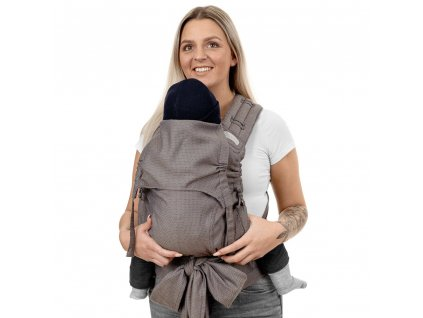 ergnomické nosítko fidella flyclick plus halfbuckle baby carrier diamonds beige toddler
