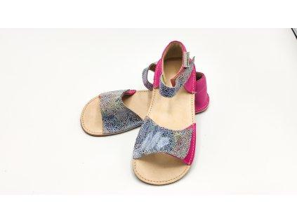 OKbarefoot dětské sandály Mirrisa D203/H duhové