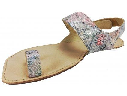 OKBarefoot letní sandály Dione A109 duhové