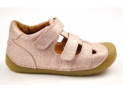 Bundgaard barefoot sandály Petit Sandal 309 Pink Grille WS