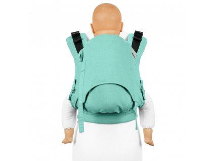 fusion v2 full buckle tragehilfe chevron mint toddler