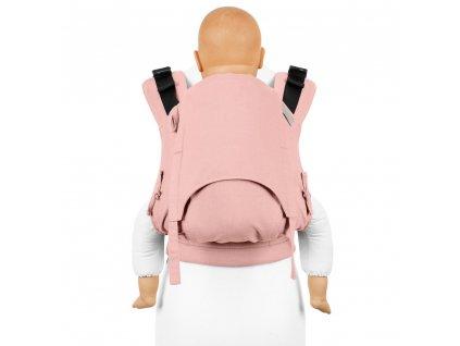 fusion v2 full buckle tragehilfe chevron rose toddler