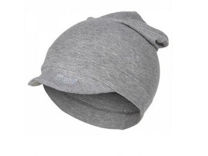 Kšiltovka smyk dlouhá Outlast® šedý melír