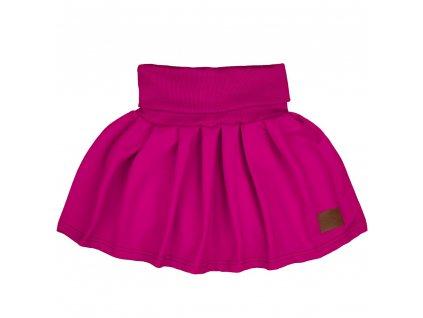 dětská sukně fuchsiová