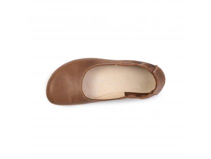 Angles Fashion barefoot baleríny Afrodita Light Brown