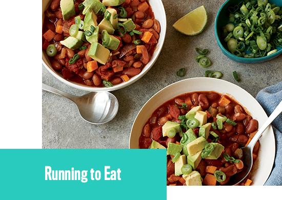 Průvodce běžeckou  výživou