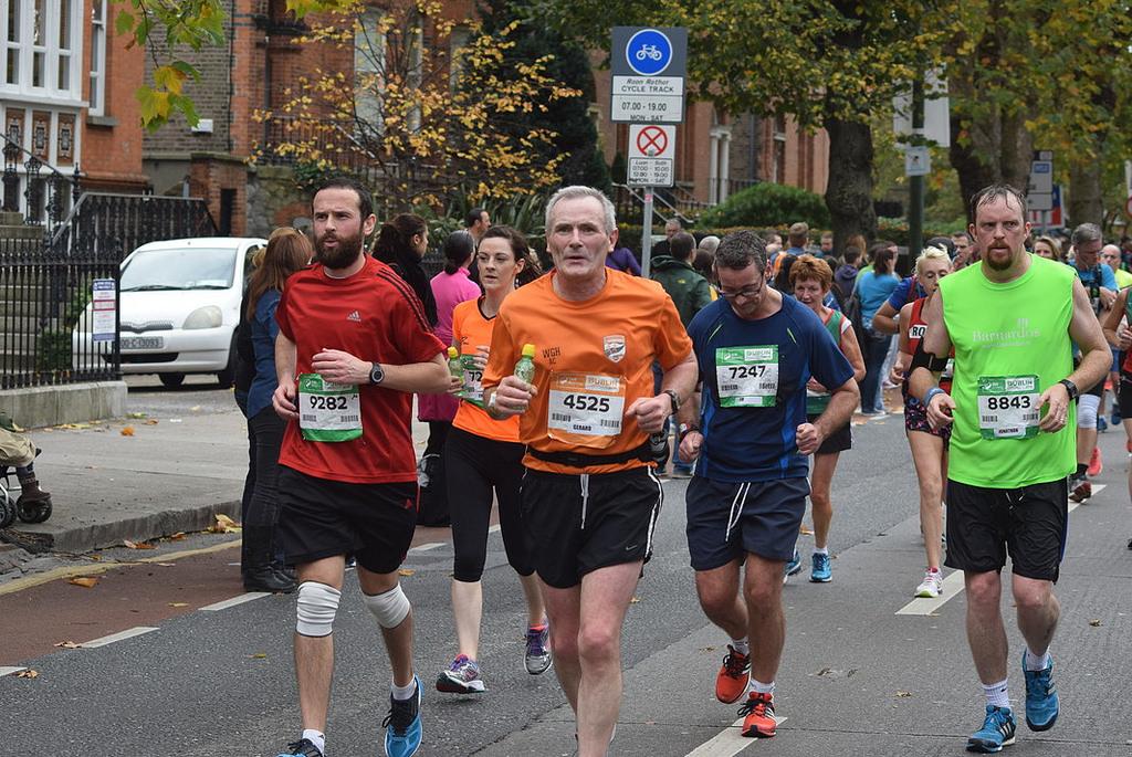 Vliv prostředí na výkon při maratonu