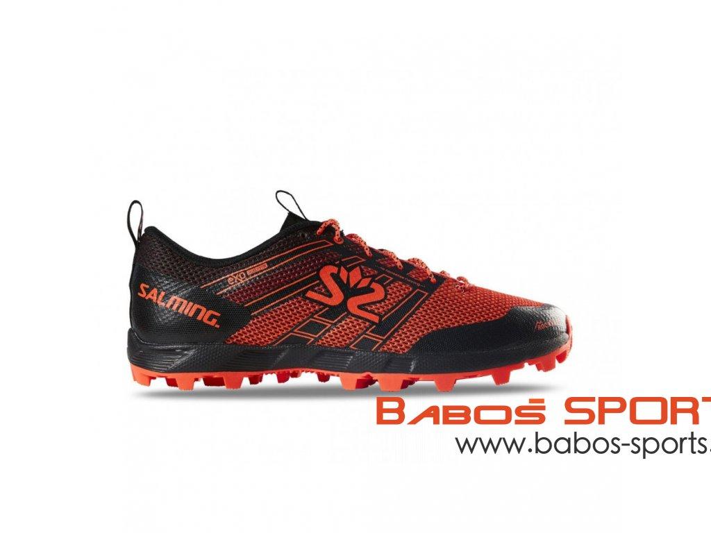 salming elements 3 shoe women black orange
