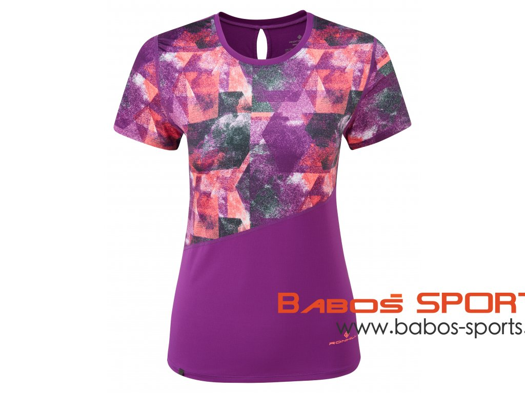 RH 004605 RH 00639 WOMENS STRIDE REVIVE SS TEE FRONT