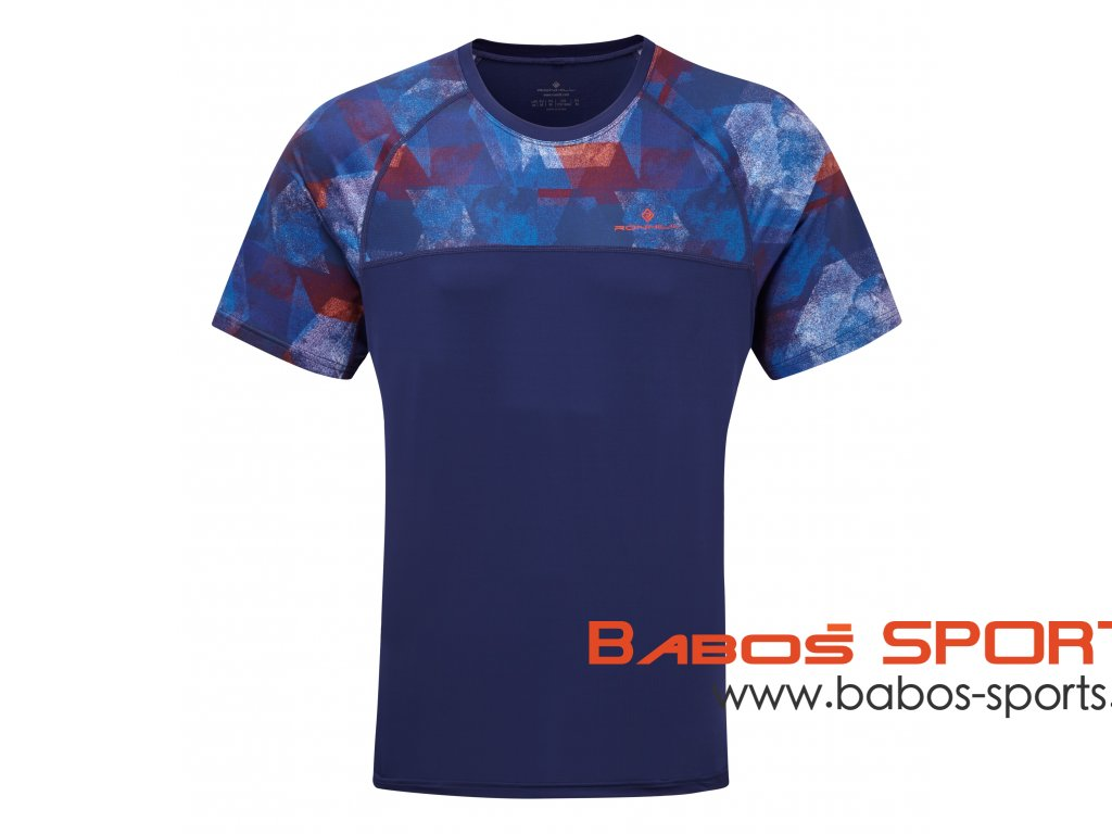 RH 004603 R00643 MENS STRIDE REVIVE SS TEE FRONT