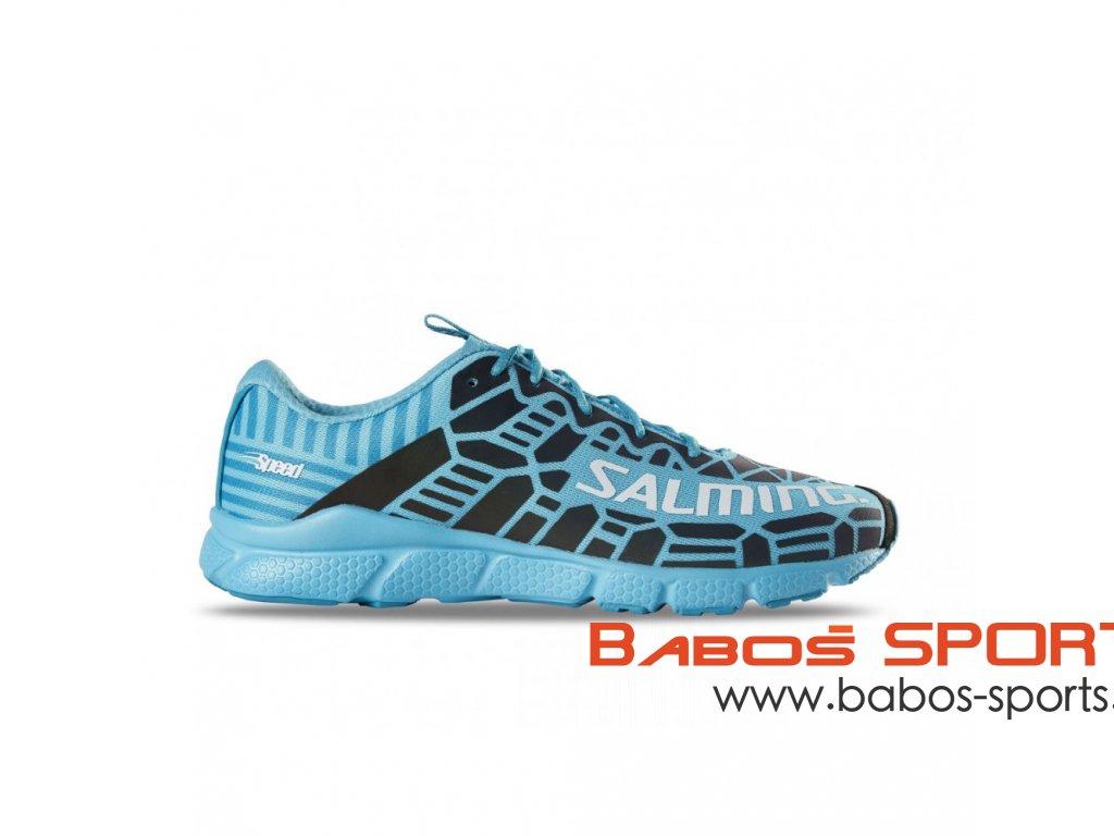 salming speed 8 shoe women blue petrol
