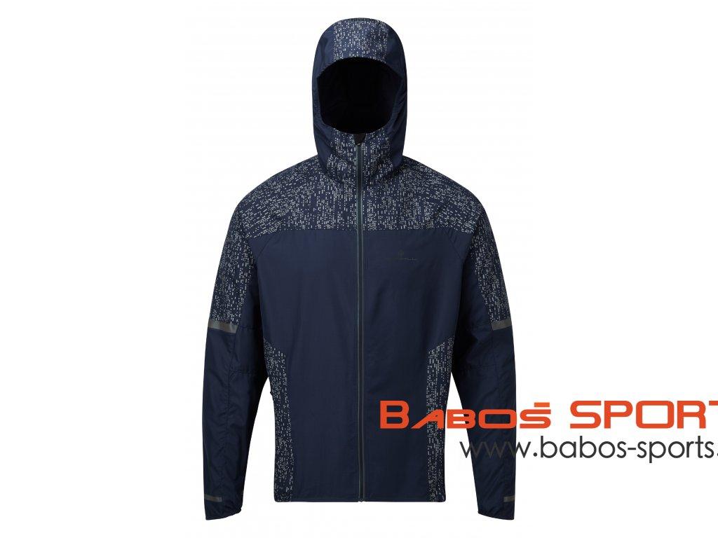 RH 004902 Rh 00678 DeepNavy Reflect Mens Life Night Runner Jacket Front