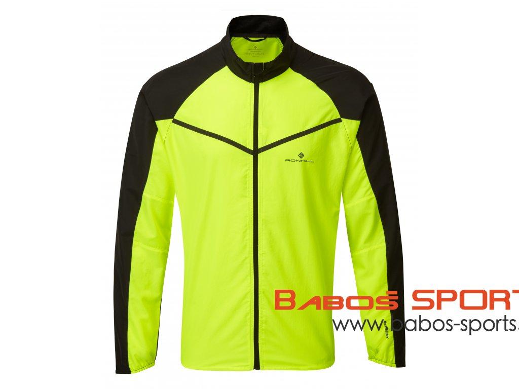RH 005202 R042 FluoYellow Black Mens Tech Windspeed Jacket Front
