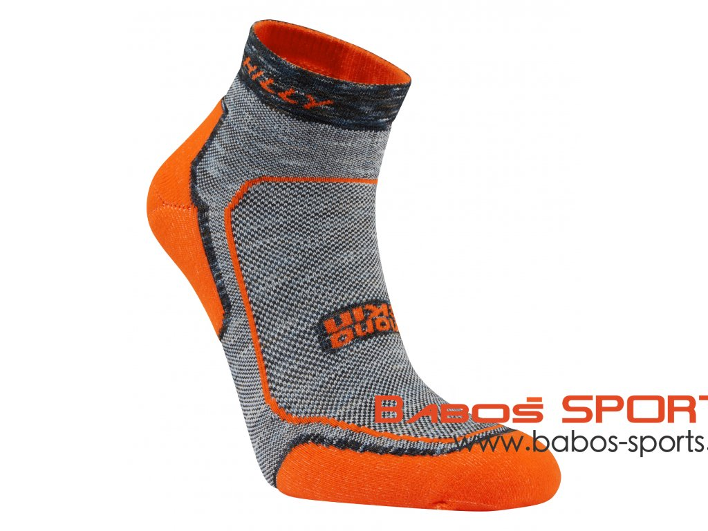 Hilly Womans Fluo Orange Lite Comfort Angle