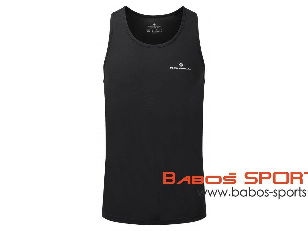 RH 005228 R009 All Black Mens Core Vest Front