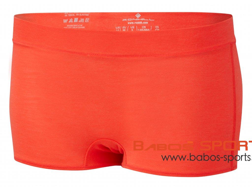 RH 005330 Rh 00723 Hot Coral Marl Womens Short Front