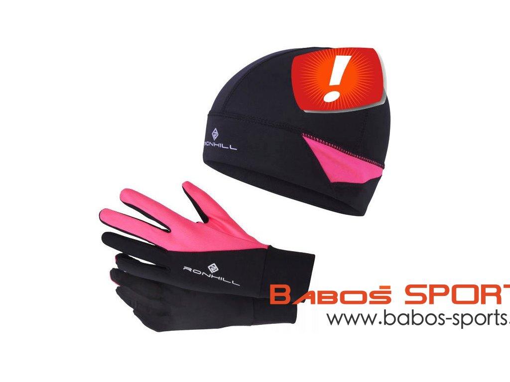 čepice a rukavice Ronhill Beanie & Glove Set