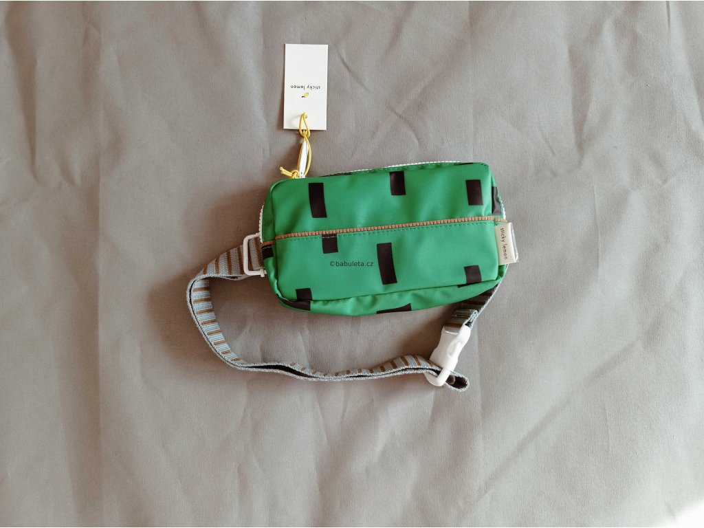 LEDVINKA, STICKY LEMON, apple green + steel blue, eco-friendly