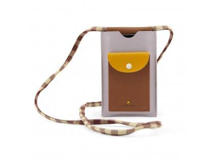 sticky lemon kabelka na mobil chocolate sundae daisy yellow mauve lilac1