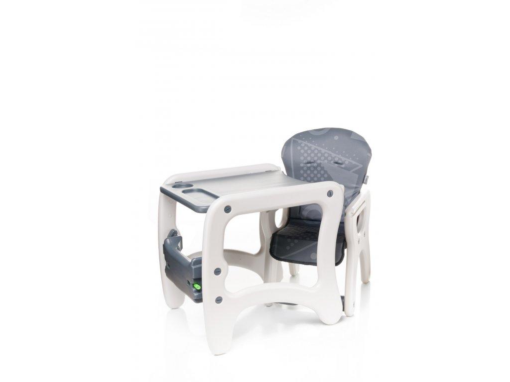 Jídelní židlička Fashion barva Grey