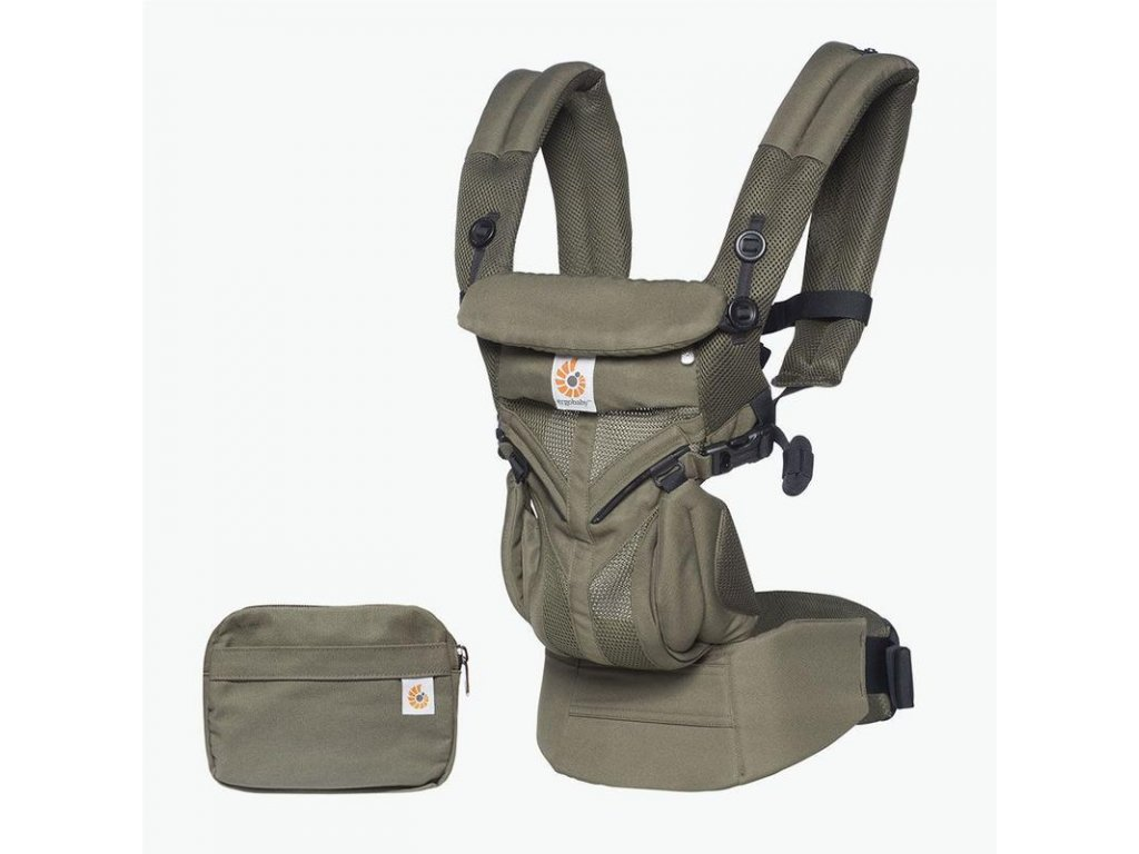 Ergobaby OMNI 360 COOL AIR MESH - Khaki Green