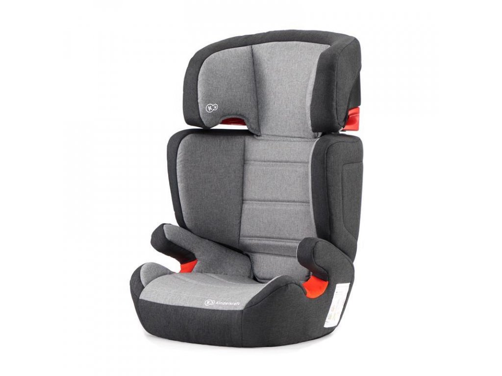 Autosedačka Junior Fix Isofix Black / Gray 15-36kg Kinderkraft 2019
