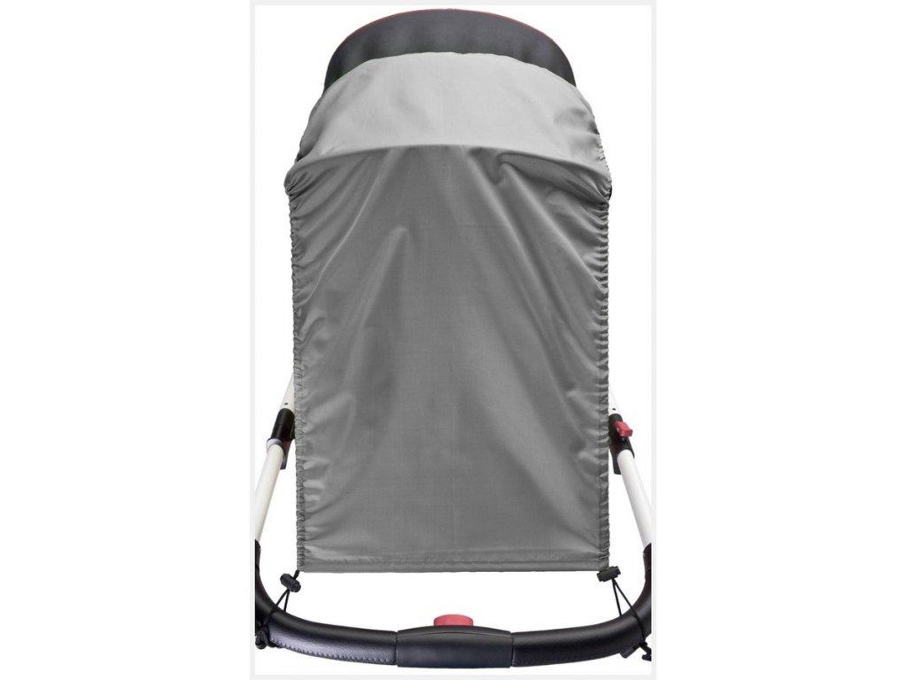 Sluneční clona na kočárek CARETERO grey  + sleva 6% na nezlevněné zboží
