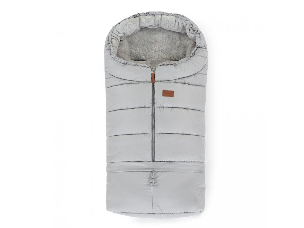 PETITE&MARS Fusak nastavitelný 3v1 Jibot Steel Grey